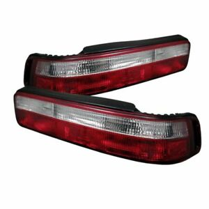Spyder Auto Euro Tail Lights For 1990 1993 Acura Integra 5000187