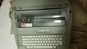 Brother Sx 4000 Electronic Typewriter Dictionary Correction Lcd Tested