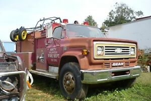 1975 Chevrolet C 65 Firetruck With 427 Cu In Engine 23 828 Miles Will Run