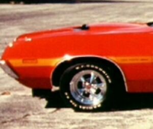 1972 Gran Torino Wheel Well Trim Show Condition Driver Side Left Front