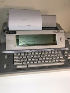 Smith Corona Electric Typewriter word Processor Pwp 77d