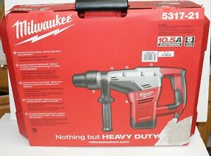 Milwaukee 5317 21 1 9 16 in Sds max Electric Hammer Drill W Case