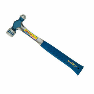 Estwing E3 32bp Solid Steel 32oz Ball Peen Hammer With Shock Reduction Grip