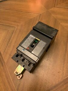 Square D Powerpact Jja36150 Current Limiting Circuit Breaker 150 Amp 3 Pole 600v
