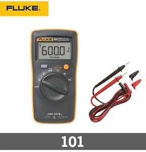 fluke Fluke 101 Basic Pocket Digital Multimeter Tester Equipment Industria
