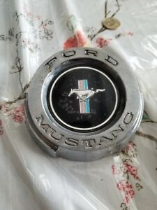 Vintage 1965 Ford Mustang Gas Cap W Anti Theft Cable