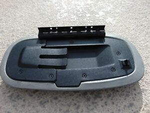 1999 04 Ford Mustang Center Console Top Lid Armrest Gray W Front Tab Latch