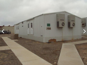 Modular Mobile Doublewide With 8 Doors Offices Good Condition 16 900