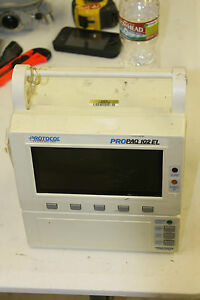 Protocol Propaq 102el Multi parameter Patient Monitor Welch Allen Hwy