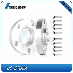 2pcs 20mm Thick 5x112 12x1 5 Hub Centric Wheel Spacers For Mercedes Benz C230