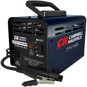 Campbell Hausfeld Stick Welder 115 volt 70 Amp Thermal Overload Protection
