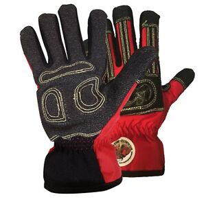 New Red Safety Gloves Rescue Schmitz Mittz Rescue x Extrication Waterproof