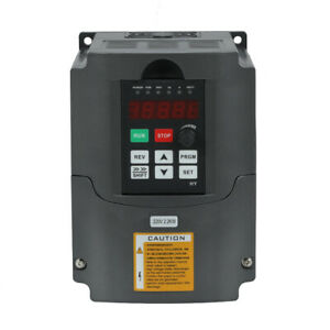 Huan Yang Vfd 220v Variable Frequency Drive Hy Inverter 2 2kw 3hp Vsd