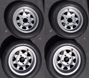 Used Rims 14 x7 4x114 3 Fits Datsuns And Mgb Set Of 4