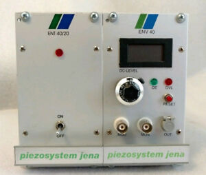 Piezosystem Jena Env 40 And Ent 40 20 Modules For Piezo Electric Control System