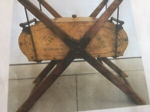 Antique Wood Butter Churn