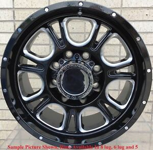 4 New 20 Wheels Rims For Toyota Land Cruiser Tundra Sequoia 29504