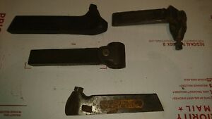 Lot 4x Armstrong Lathe Tool Holders Model No 47 16 1 l And X2l Look