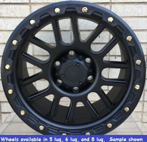 4 New 17 Wheels Rims For Chevy Silverado 1500 6 Lug 25035