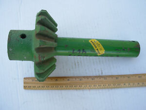 John Deere Baler Twister Drive Shaft Gear Assembly New Old Stock Am3228e