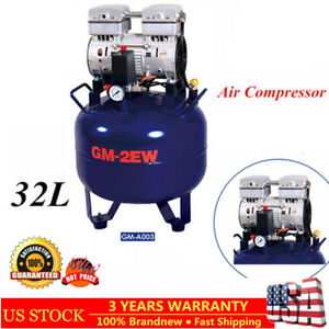 Dental Air Compressor Oil Free Silent Noiseless One Drive Two 32l Gm 2ew 32 850w