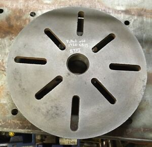 1920 Southbend Metal Lathe 8 Tpi 10 3 4 Face Plate For Early Southbend Lathes
