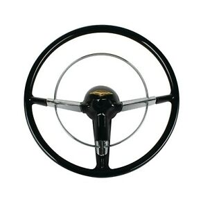 Retro 1956 Small 15 Chevy Chevrolet Steering Wheel New