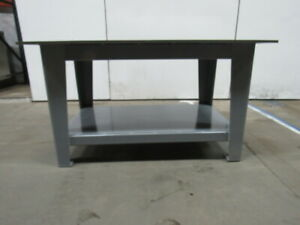 H d 5 8 Thick Top Steel Fabrication Layout Welding Table Work Bench 60 X 40
