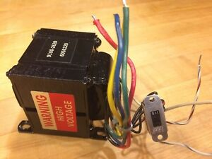 Hp 5328a Power Transformer P n 9100 2620 With 115 230 Switch