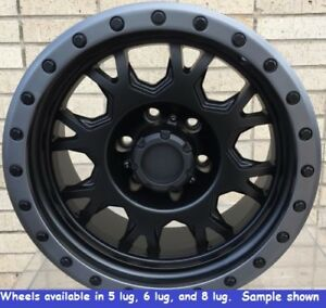 4 New 18 Wheels Rims For Toyota Sequoia Tundra 2wd 4wd 6 Lug 25052
