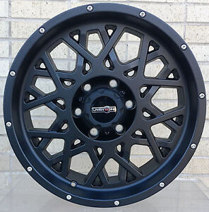 4 New 20 Wheels Rims For Chevy Silverado 2500 Hd Lt Ltz Wt 23013