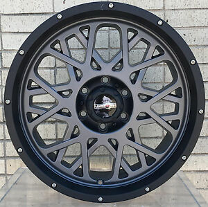 4 New 18 Wheels Rims For Gmc K 1500 K 2500 6 Lug 25055