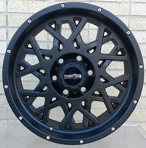 4 New 18 Wheels Rims For Chevy Silverado 2500 Hd Lt Ltz Wt 23012