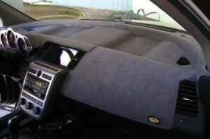 Fits Subaru Gl 2 Door Coupe 1985 1989 Sedona Suede Dash Cover Mat Charcoal Grey