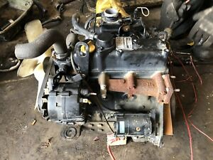 Yanmar Diesel 3tn75 Engine Runs Perfect W Video John Deere 3tn75rj