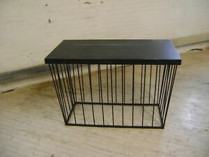 Table Metal Base Modern Laminate Top Retail Merchandise Accent Table