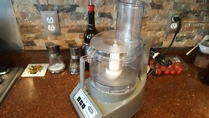 Waring Commercial Food Processor Warning Model 31fp85