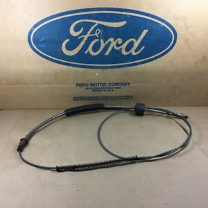 67 68 Galaxie Nos Oem Ford C8az 2853 a 89 7 8 Long Front Brake Cable