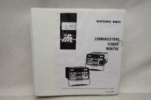 Ifr 1500 Service Manual Fm am 1500 Communications Service Monitor