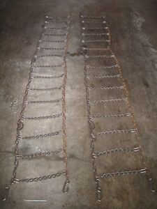 Campbell Semi Truck Snow Chains Heavy Duty Made In Usa