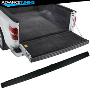 Fits 09 14 Ford F150 Trunk Top Protector Cover Tailgate Moulding Cap Black