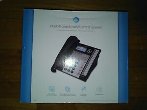 At t Small Business Phone System Model 1040 Up To 4 Lines Up To 16 Stations New