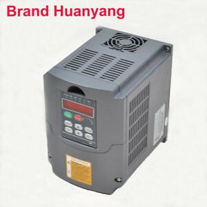 Huan Yang Vsd 110v 13a 3kw 4hp Variable Frequency Drive Inverter Vfd Cnc