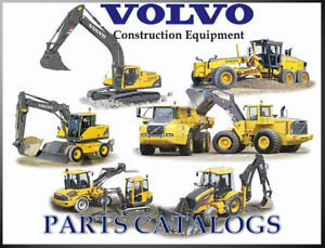 Volvo Compact Wheel Loaders L32b Parts Catalog On Cd