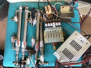 Camozzi Complete Package Phneumatic Cylinder Double Acting