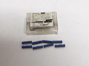 8 New 532100 3 Micro Connector W Gold Pins