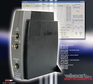 Velleman Pcsgu250 Usb pc Scope Generator 2ch special