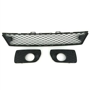 3pc Volvo Oem Lower Front Bumper Grille Inserts W pas For Xc70 2008 2013