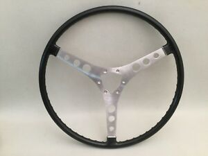 1959 62 Corvette Steering Wheel Nos Black Gm 764756 Without Hub 1956 58