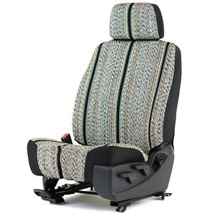 Universal Saddleblanket Low Back Bucket Seat Cover W headrest Cover
